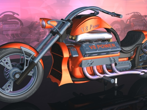 V8 Bike