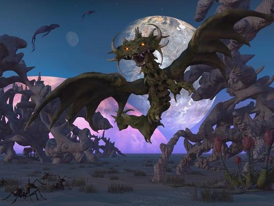 Die Nacht der Teufelsdrachen