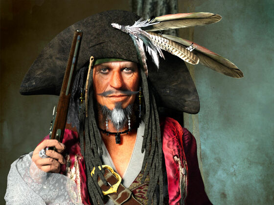 Captain Edward Teague PotC Series 2019