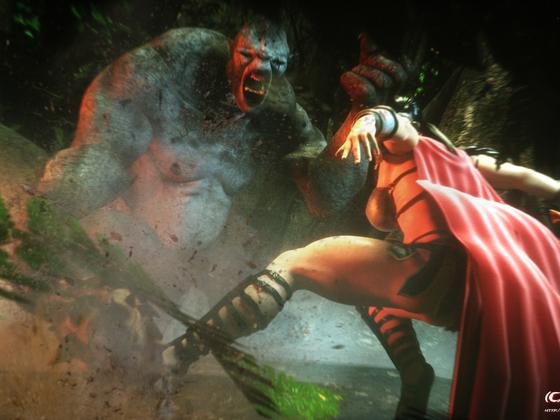 Fia - fighting the troll